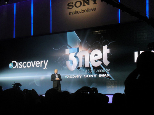 Sony Press Event for 3net