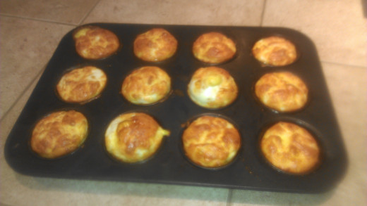 Fully baked crab and spinach mini quiches