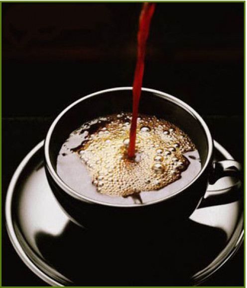 IMPORTANT: Drinking your coffee black is more nutritious.  Milk and sugar binds the antioxidants, leaving it less beneficial for your health.