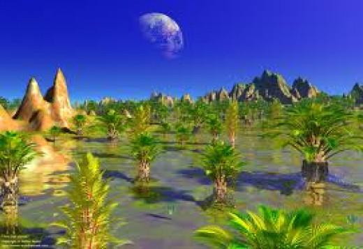 vegetation on earthlike planet