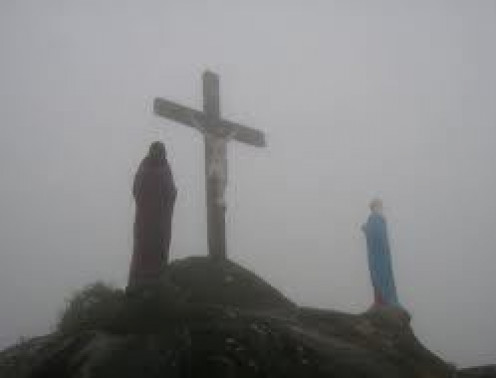 mountain of holy cross