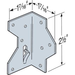Fig 1.  Angle bracket example