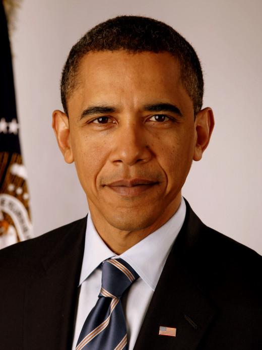 Barack Obama's Official Presidential Portrait