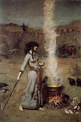 (public domain image) by John William Waterhouse