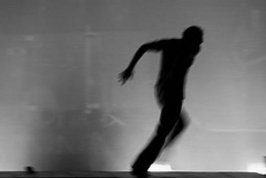 Fleeing from RedArt photographer Source: flickr.com