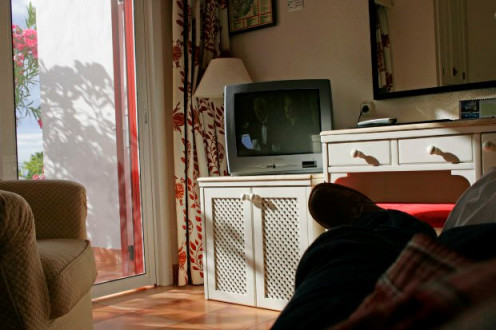 Watching too much TV is not only habit-forming, but since it is also couch-potato forming, it can be hazardous to your health.