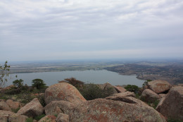 View  from the top of Mount Scott