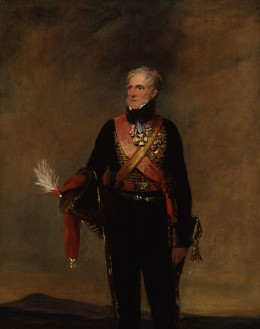 Henry Paget, the 1st Marquess of Anglesey, known as the Earl of Uxbridge between 1812-1815.