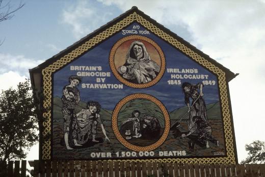 An Gorta Mor memorial