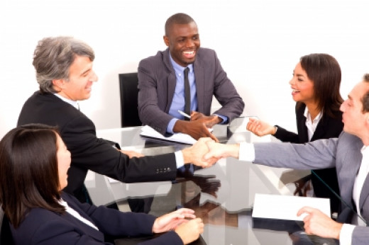Business negotiations can gain a lot from some lightheartedness and a few laughs.