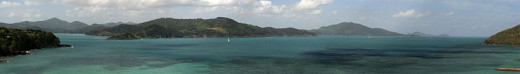 Hamilton Island - the location of the $100,000 blog job.