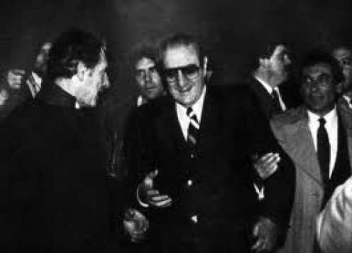 Paul Castellano was the leader of the Gambino crime family located in New York. John Gotti had him gunned down in New York in front of a steakhouse.
