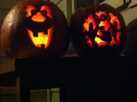 Carve your pumkins