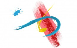 simple but effective brush strokes can be framed as a gift