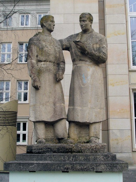 Student-Teacher Monument in Germany Honoring Teachers