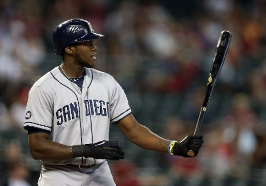 Cameron Maybin, San Diego Padres