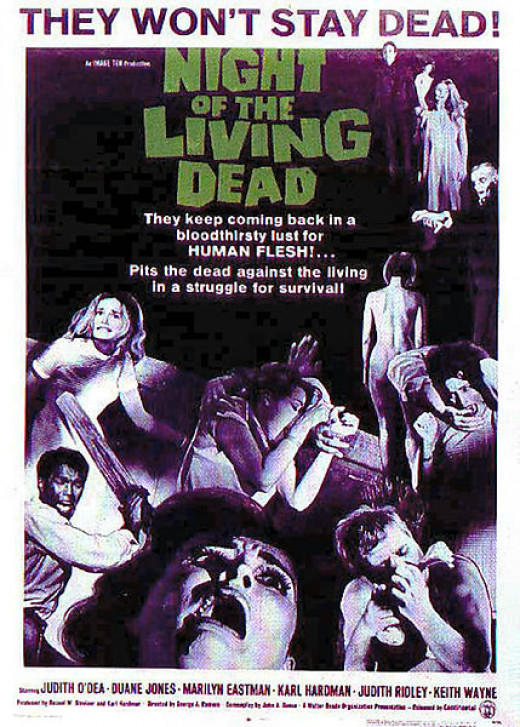 """Night of the Living Dead"" poster"