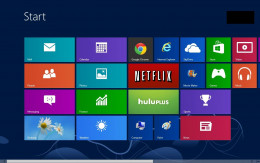 "Click the ""Mail"" app on your Windows 8 Start screen."