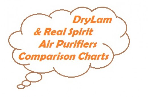 DryLam and Real Spirit offer several different hybrid air purification systems.