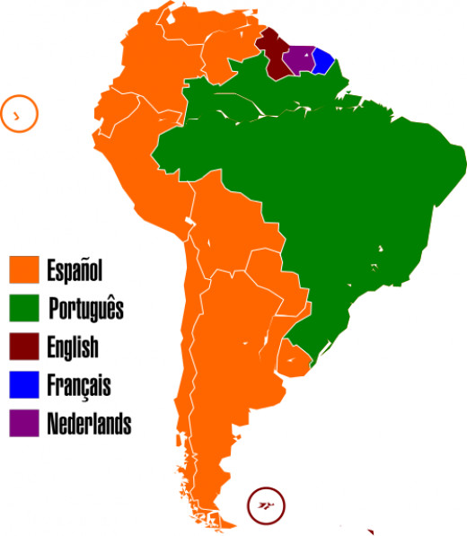 South America, territory of the South Sea Company, image courtesy of Wikimedia