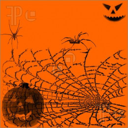 Spiders and webs have found their way into Halloween hoopla.