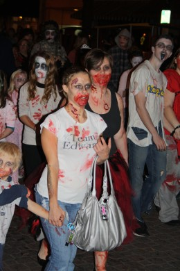 The ZOMBIES are coming!!!!  Zombie walk downtown Fayetteville!