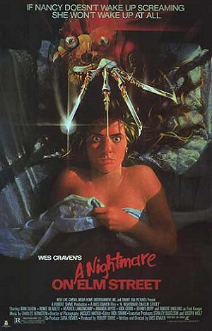 """A Nightmare on Elm Street"" poster"