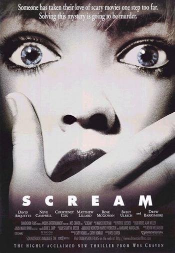 """""""Scream"""" poster"""