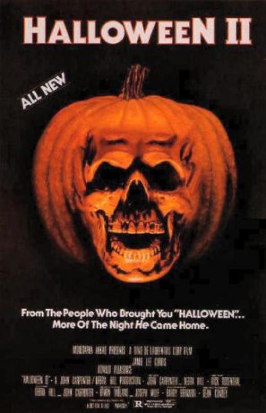 """""""Halloween II"""" poster"""
