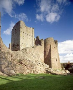 Haunted Places - Goodrich Castle, beautiful medieval fortress but with well mannered resident ghosts.