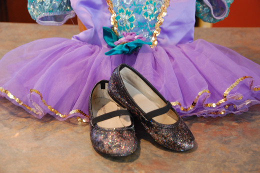 Not perfect - but perfectly pretty for a Halloween ballerina!
