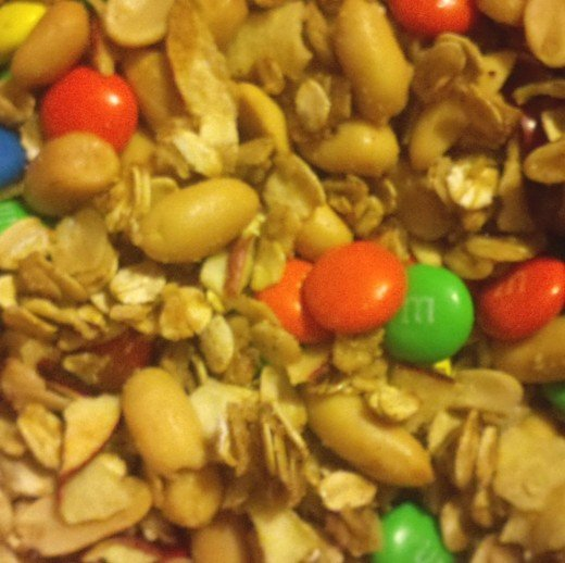 Autumn Apple Trail Mix