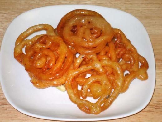 Jalebi Dessert