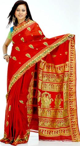 traditional sari