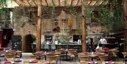 Restaurant Los Danzantes in Oaxaca City, Mexico. Contemporary Mexican Cuisine.
