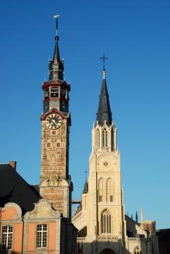 Sint Truiden belfry, Limburg province, Belgium