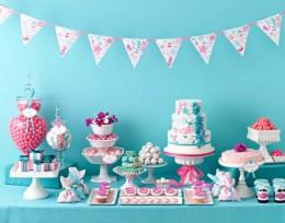 Dessert themed baby shower
