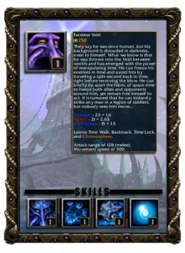 Dark Terror the Faceless Void Profile