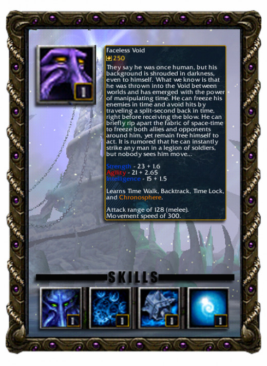 Dark Terror the Faceless Void Profile