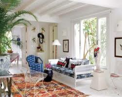 Using colours to create a certain look in your home can transform a room