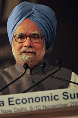 Manmohan Singh Himself Is Inefficient And Corrupt