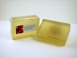 Transparent soap bars