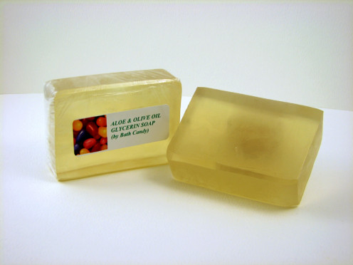 Transparent soap bars