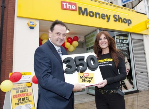 350th Money Shop Opening.