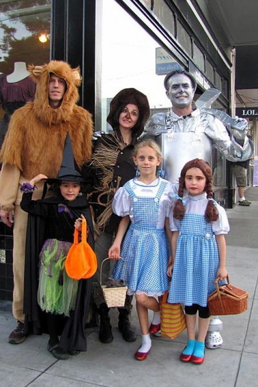 Family Halloween Team