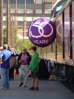 Union Pacific Railroad Celebrates 150 Years: A Celebrated Visit to Houston