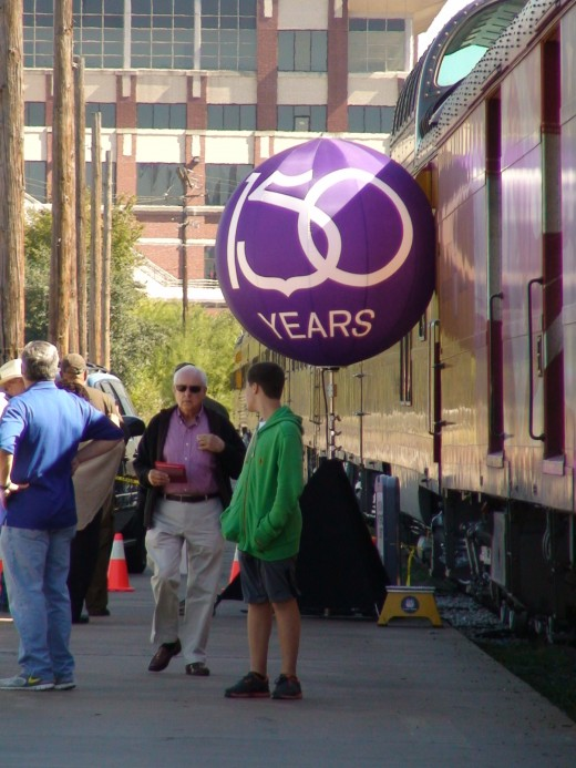 In 2012, Union Pacific Railroad celebrates its 150th anniversary.
