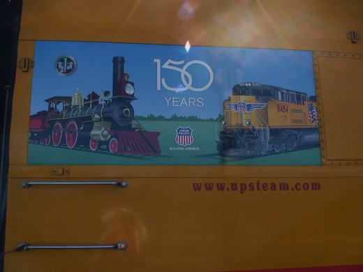 Union Pacific is celebrating 150 years of passenger and freight service in America.
