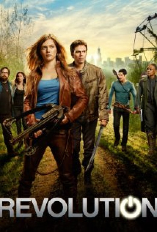 Promo poster for NBC's Revolution
