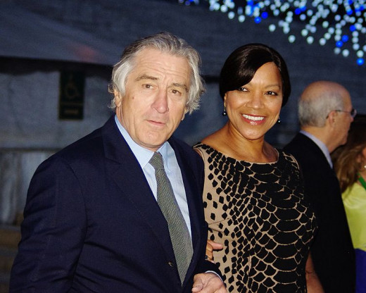 Robert DeNiro and His Wife Grace Hightower